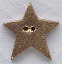 "86291 - Large Gold Star 1""x 1in - 1 per pkg"
